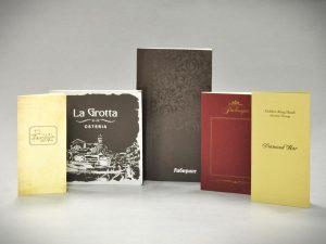 Меню для кафе, баров и ресторанов от Sochipress: La Grotta