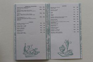Меню для кафе, баров и ресторанов от Sochipress: Балкон