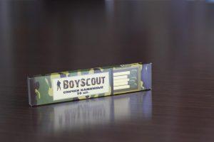 Сувенирная продукция от Sochipress: спички Boyscout